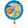 Sesame Street Bert &amp; Ernie Make Music Foil 18&quot; Round